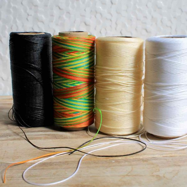 Waxed thread colour options